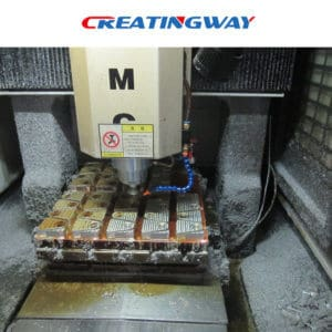 setting up and fixturing of CNC machining