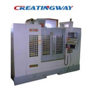 CNC machine works