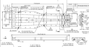 CNC Machining Drawing 2D